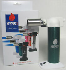 "Newport Zero Butane Gas 6"" Cigar/ Kitchen/ Chef Torch Lighter Multi Use NBT007"