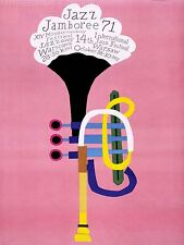 ART PRINT POSTER ADVERT EVENT JAZZ POLAND TRUMPET ABSTRACT NOFL1632