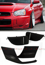 FOR 2004-05 SUBARU IMPREZA WRX STI GD FRONT BUMPER SIDE LIP + FOG LIGHT COVERS