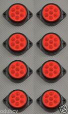 8x 7 LED´s 12V Seite Hinten Marker ROT Beleuchtung Auto SUV Camper 4x4 Pickup