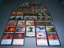 MTG Magic THE MAD DRAGON DECK Sarkhan the Vampiric Steel Hellkite Volcanic LOT