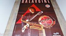 BALAVOINE   !  rare affiche cinema musique concert vintage