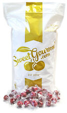 SweetGourmet Wrapped Red Raspberries Filled Holiday Candy - 5Lb FREE SHIPPING!