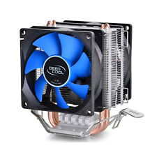 CPU Cooler Fan Double Heatpipe Radiator For Intel AMD 754/940/AM2+/AM3/FM1/FM2