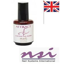 NSI Attract Attraction Acid Free Nail Primer - 15ml Bonder (FAST DELIVERY)