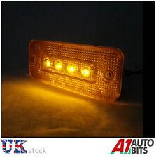 4 pcs led 12V orange ambre feu de position latéral lumière indicateur camion camion outline