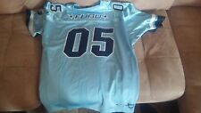 Vintage FUBU XL BAby Blue Football  Jersey