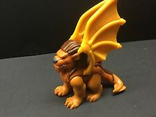 "Imaginext Lion Dragon Mattel Fisher Price 2008 Wings 6"" High"