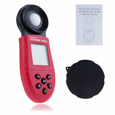 New 200,000Lux Digital Light Meter Luxmeter Lux/FC Meters Luminometer Photometer