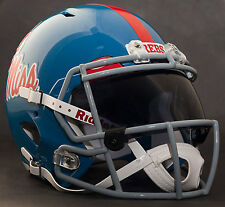 OLE MISS REBELS MISSISSIPPI Gameday REPLICA Football Helmet w/ OAKLEY Eye Shield