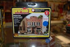 "N Woodland Scenics ""Pre-fab"" kit 5201 * Planters Feed and Seed Supply * NIB"