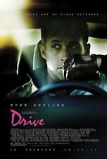 DRIVE Movie Poster Ryan Gosling RARE 02 Art Wall 24X32 Inch