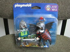 Playmobil - Blister 4912 - Caballeros del Dragon - Medieval - (NUEVO) OVP