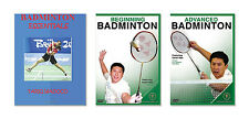 New Badminton Training Book and DVD - Free Shipping
