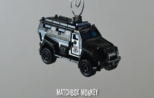 Police SWAT Unit Truck Special Forces1/64 Scale Custom Christmas Ornament Adorno