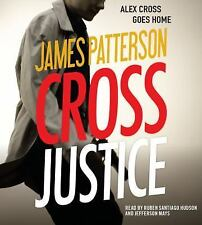 Cross Justice  by James Patterson  abridged 6 CDS Brand New
