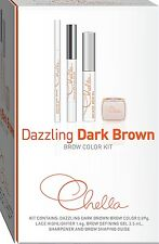 CHELLA EYEBROW Dazzling Dark Brown Color Pencil Kit