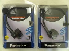 PANASONIC HEADSET FOR CORDLESS PHONES KX-TCA60 BLACK  (QUANTITY 2)