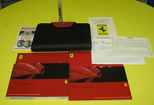 Enzo Ferrari 2003 COMPLETE Owner's Manual Set - ULTRA RARE And FULLY COMPLETE!!
