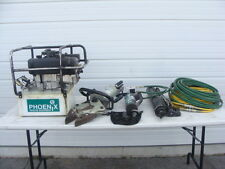 Phoenix Rescue Equipment Jaws of Life Set W/ Spreaders & 8HP Hydraulic Pump!