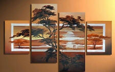 HD 4 pc Large Modern Abstract Art Oil Painting Wall Decor canvas NO frame