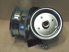 "2) Mini Bike GO KART 6"" Split Rim Steel Wheels 3/4"" LIVE AXLE Hub & Hardware"