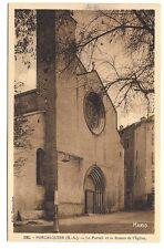 forcalquier  le portail et la rosace de l'église