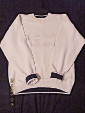 Rayban Olympic Sweater 1994/96 White XL Rare 100% Cotton Gear for Sports Brand