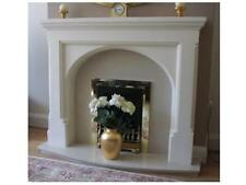 F16 Gothic Arch Fire Surround in Plaster