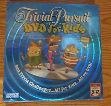 Trivial Pursuit DVD for Kids Season 1 Parker Brothers Hasbro Ages 8 - 12
