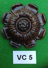 Antique clock Vienna Casting Large flower, Handmade in England VC 5