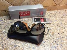 VINTAGE NEW RAY BAN GLACIER AVIATOR RARE SUNGLASSES/LEATHER BLINDERS