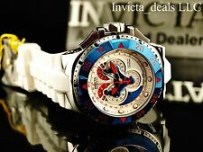 Invicta Mens Reserve Excursion Jelly Fish Swiss Made Master Calendar Strap Watch