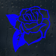 Beautiful Flower Blue Rose For Girl's Woman's Lady's Car Decal Vinyl Sticker