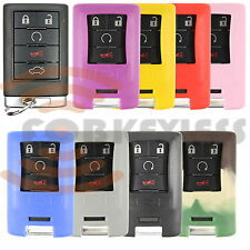 Brand New GM Keyless Entry/ Smart Key Cover Case Rubber Silicone