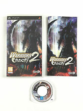Jeu Warriors Orochi 2 Sur Console Sony PSP