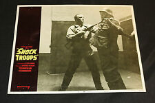1968 Shock Troops Lobby Card 69/248 #6 Harry Saltzman (C-6)