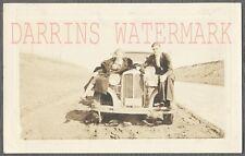 Vintage Car Photo Man & Woman w/ 1931 Chrysler Automobile 765180