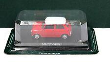 Del Prado Diecast 1:43 Morris Mini Cooper Red White MIB