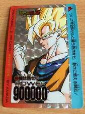 Carte Dragon Ball Z DBZ PP Card Part 20 #844 Prisme (Version Soft) AMADA 1993