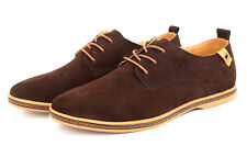US Seller Fashion Suede European style leather Shoes Men's oxfords Casual SX17