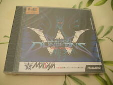 DOUBLE DUNGEON RPG PC ENGINE BRAND NEW JAPAN NEW FACTORY SEALED!