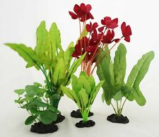 Aquarium Plants for Plastic Tank Silk COMBO B(5)