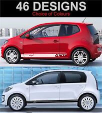 VOLKSWAGEN UP Lato Strisce Decalcomanie Grafiche Adesivi VW UP