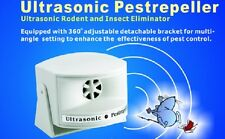Ultrasonic Pest Repeller, Rats Mice Rodent Ant Spider Cockroach *2500-4500sq ft*