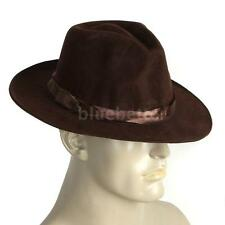 Cowboy Hat for Halloween Cool Felt Material for Masquerade Parties Brown BB W9Z9