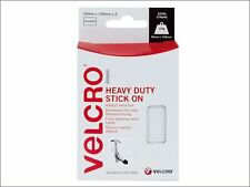 VELCRO® Brand - VELCRO® Brand Heavy-Duty Stick On Strips (2) 50 x100mm White