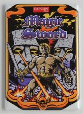 Magic Sword Side Art FRIDGE MAGNET video game arcade sideart