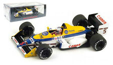 Spark s4059 Williams fw12 Judd # 5 2º British Gp 1988-Nigel Mansell 1/43 Escala