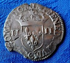 MONNAIE ROYALE FRANçAISE  EN ARGENT HENRI IV DE 1610 CC BESANçON